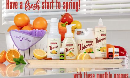 Young Living March Promo